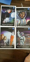 2019 SDCC COMIC CON EXCLUSIVE NASA EXPLORATION GROUND SYSTEM PROMO CARD SET OF 4