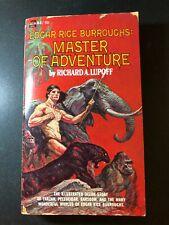 Edgar Rice Burroughs MASTER of ADVENTURE 1968 Ace PB Richard Lupoff FRAZETTA Art