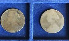 1 Farthing Victoria 1872 Lot 2 Pieces.
