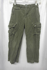 Polo Ralph Lauren Boy's Sz 6 Olive Green Cord Pants Cargo