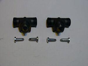 2 x Radbremszylinder 15,87 mm für Opel Rekord B,C,D,E hinten