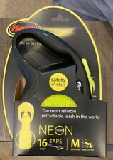 Brand New Flexi Retractable Dog Leash Sz M