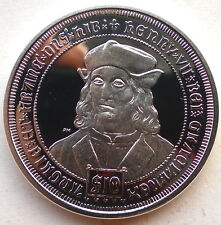 British Virgin 2008 Henry VII 10 Dollars Silver Coin,Proof