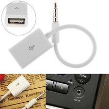 Selling 3.5mm Male aux Audio Plug Jack To Usb Converter Cord Cable Car Mp3 Music