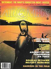 Air Combat May 1982 Navy Skyknight Grumman X-29A Falcon Skyhawk RAF Harriers