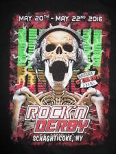 2016 Rock 'N Derby Concert (2Xl) Shirt Megadeth Sixx: A.M. Anthrax Dokken Clutch