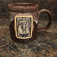 2 Vintage NAPA BRAKES Auto Parts Advertising Coffee Mugs Set Ceramic NOS
