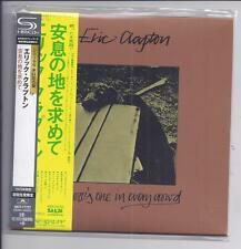 ERIC CLAPTON There's one in every foule Japon MINI LP CD SHM CD UICY - 77727 New