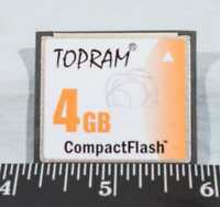 Topram Compact Flash CF 4gb g25