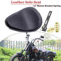 """Motorrad 3"""" Solo Sitz Sattel Seat Federn Halterung passt Für Yamaha Harley"""