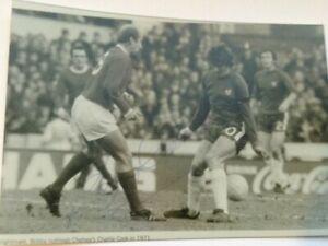 Bobby Charlton Signed Photograph + COA