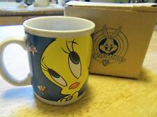 TWEETY & SYLVESTER  Coffee Mug or Cup  + ORIGINAL BOX Cartoons 1998 Looney Tunes
