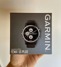 Garmin Fenix 5s Plus Multisport GPS Watch, One Size with Band - Black