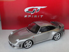 GT-Spirit : Porsche 911 993 Ruf CTR 2 Silver , 1:18 , New
