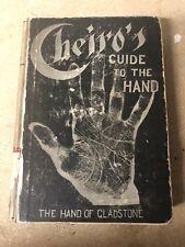 Cheiros Guide To The Hand - Copyright 1899 Original. Book
