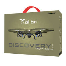 Kolibri Discovery Delta-Recon WiFi U818A Quadcopter Drone Military Edition