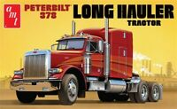 AMT Peterbilt 378 Long Hauler Semi Tractor 1:24 scale truck model kit new 1169