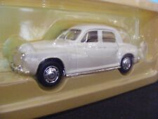 Rover P4 in Ivory White with Black  Interior Lledo Vanguards1:43