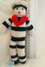 peluche n°S009 : MARIN en laine