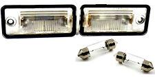 Audi A4 B6 set 2 lampade FANALE LUCE TARGA LAMPADA targhe 8E0807430B 8E0807430A