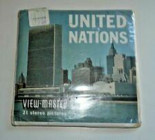 * SEALED * UNITED NATIONS USA VIEWMASTER REELS SET A651 RARE    E346
