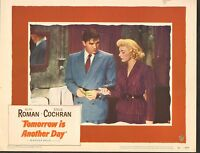 1951 MOVIE LOBBY CARD #2-927 - TOMORROW IS ANOTHER DAY - RUTH ROMAN