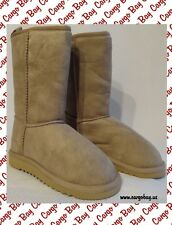 TAN AEROPOSTALE FAUX FUR LINED WINTER BOOTS SIZE 7 NEW Free Shipping