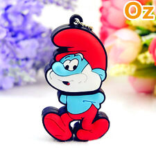 Papa Smurf USB Stick, 8GB Quality The Smurfs USB Flash Drives WeirdLand