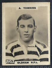 PINNACE FOOTBALL-PINNACE BACK-#2163- RUGBY - OLDHAM RFL - A. TOMKINS
