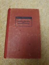 Deva Wörterbuch Deutsch-Englisch 1946