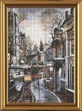 NOVA SLOBODA counted cross stitch TRAM WAYS Buildings & Monuments EMBROIDERY NEW