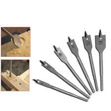 10/12/16/18/20/25mm Flat Wood Drill Bit Set Hole Cutting Woodwork Hole Saw Set
