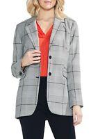 Vince Camuto Women's Bold Glen Plaid Blazer Sz 6 NWT N3620 MSRP $149