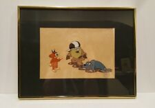 Crazy Claws authentic animation Production Cel Background art Cartoon H + B