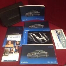 2012 Honda Accord Sedan Owners Manual with warranty manuals and case