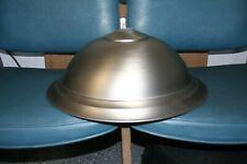 Brushed Nickel Pendant Hanging Lamp NIB