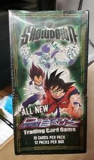 DRAGON BALL Z SHOWDOWN BOOSTER BOX 12 PACKS FACTORY SEALED