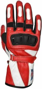 BAR Polaris Leather Gloves with Reinforced Heel, Hard Knuckle for Men and Women