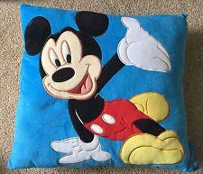 Disneyland Resort Paris Mickey Mouse Walt Disney Plush Soft Cushion Pillow