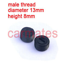 2 Carbon Brushes Caps For Milwaukee Dewalt Male Thread 13mm Hammer Drill Aussie