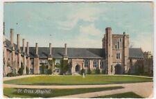 Hampshire; St Cross Hospital, Winchester PPC, To Mr Cutler, Wimborne, c 1910's