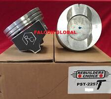 "Pontiac 428ci Pistons + Rings Kit 1967 68 69 +.060"" Lemans GTO Firebird"