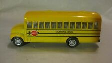 5 Inch Yellow School Bus In A Medium Scale Diecast From Kins Fun       New dc857