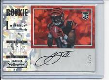 JOHN ROSS III 2017 CONTENDERS VARIATION CRACKED ICE ON CARD AUTO RC #D 17/25