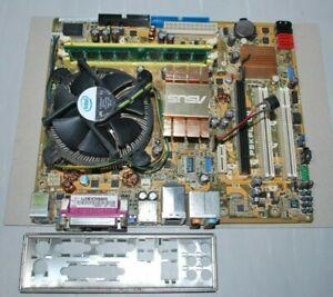 ASUS P5KPL-CM Intel Socket 775 Core2Duo Pentium PCI-E mATX 2GB DDR2