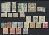 spain imperf blocks and stamps ref r9299
