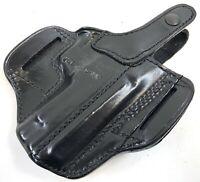 NEW DON HUME Leather H726 Belt Slide Left Semi Open Holster Sig Sauer 226 220