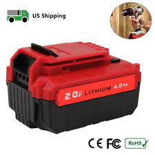For Porter Cable 20V MAX 6.0Ah Lithium-ion Battery PCC685L PCC680L Cordless Tool