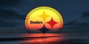 NFL Pittsburgh Steelers Sunset Champions Custom Car Truck License Plate New