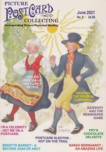 PICTURE POSTCARD COLLECTING  MAGAZINE  - JUNE 2021 (incorporating PPM) # 8